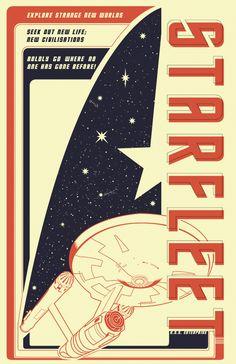 Star Fleet by Curtis Tiegs, via Behance