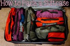 How to Pack a Suitcase! #Travel #Suitcase #Packing