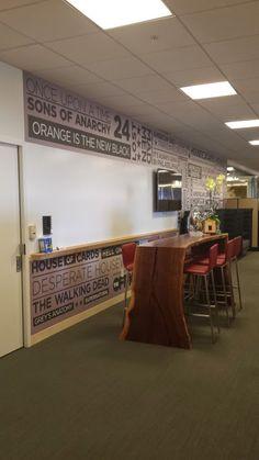 A peak inside Netflix headquarters