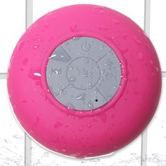 Oxgord Wireless Speaker Handsfree Bluetooth Shower Waterproof Portable Hot Pink. Oxgord is committed to giving our customers the best product in terms of quality and price. We present to you the Waterproof Portable Wireless Speaker. This amazing product can be used in the shower, in the rain, or in your car. Enjoy crystal clear sound and not to worry about cumbersome cable. Stick the Oxgord Bluetooth Speaker onto your car's windshield now and enjoy your road trip with wonderful music to…