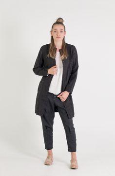 Umit Unal   Et Vous   Long Linen Jacket