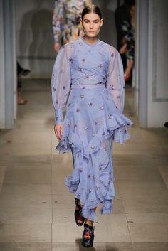 Erdem Fall 2017 Ready-to-Wear Fashion Show - Vera Van Erp