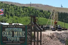 MOLLIE KATHLEEN GOLD MINE TOUR, Cripple Creek, CO. Awesome (and scary) experience!