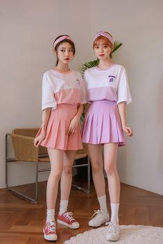 Korean Fashion Dress, Ulzzang Fashion, Harajuku Fashion, Korean Outfits, Kawaii Fashion, Ulzzang Girl, Japanese Fashion, Cute Fashion, Asian Fashion