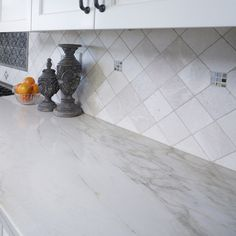 Arizona Tile carries Bianco Venatino in natural stone marble slabs selected for its crisp, vibrant white and pencil-thin veining. Tile Stores, Natural Stones, Home Remodeling, Tile Floor, Tiles, Marble, Flooring, Glass, Ranch