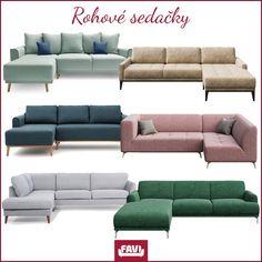 Veľký výber na jednom mieste. Sedačky v škandinávskom štýle v krásnych farbách. Ravenna, Photoshop Design, Sims 4, Couch, Bratislava, Graphic Design, Furniture, Colors, Home Decor