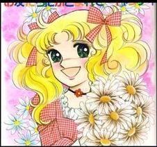 Candy Withe muy feliz