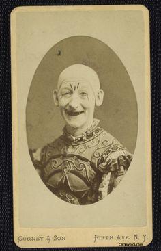 Clown 1800s