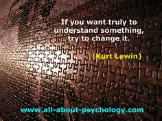 Kurt Lewin Quote