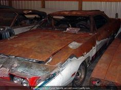 There are pictures of this particular Superbird all over Pinterest in various stages of decay. Wonder if it was ever restored?