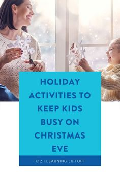 We've gathered some terrific ideas for holiday activities for the kids that will spark some merry moments of togetherness for the family this Christmas Eve. Winter Holiday, Christmas Eve, Holiday Fun, Rainy Day Activities, Holiday Activities, Best Holiday Movies, Family Games To Play, Indoor Games, Business For Kids