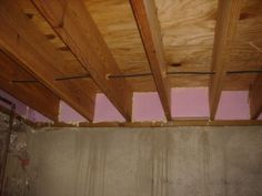 Unique Insulating Basement Joist