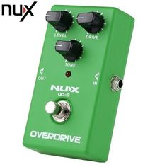 NUX OD - 3 Vintage Overdrive Booster Guitar Effect Pedal