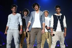 One Direction's 11 Best On-Stage Style Moments of All Time: BBC Radio 1 Teen Awards show, October 2011