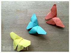 Fine Motor Activity of the Week: Simple Origami Butterfly - pinned by @PediaStaff – Please Visit  ht.ly/63sNt for all our pediatric therapy pins