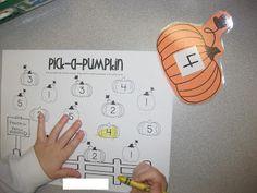 Mrs. Albanese's Kindergarten Class: Pumpkin Fun!