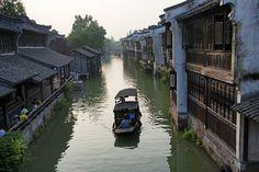DSC_8627 Wuzhen, China: Water Town Canal
