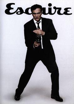 sammyrockwell:    Quentin Tarantino for Esquire, 2009