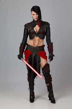 hotcosplaychicks:  Dark Side by MissSinisterCosplay Check out http://hotcosplaychicks.tumblr.com for more awesome cosplay