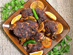 This slow cooker jerk chicken is spicy and flavorful, yet requires barely any work!