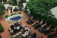 Garden Wedding at the Darlington House  Read more - http://www.stylemepretty.com/2014/02/24/garden-wedding-at-the-darlington-house/