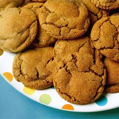 Classic gingerbread cookies get an extra dose of wintry flavor with sweet molasses mixed in. Get the recipe at Gimme Some Oven.