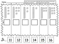 Teacher Laura: Place Value Freebie : Created this place value set of worksheets for her kindergarten classroom. I hope you can find a use fo. Place Value Worksheets, Math Place Value, Place Values, Math Worksheets, Math Resources, Math Activities, Base Ten Activities, Place Value Activities, Math Classroom