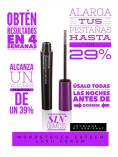 Serum para pestañas #younique #seum #pestañas #cosmetics #makeup