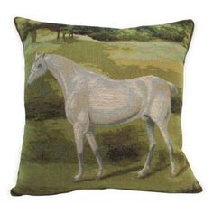 Check out this item at One Kings Lane! White-Horse Pillow