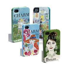 Kate Spade iPhone cases for spring! lovemeinwhite.tumblr.com