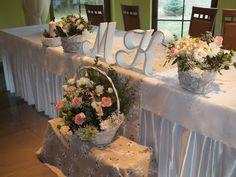 Co ja robię tu?...: Dekoracja sali weselnej.... Table Decorations, Wedding, Furniture, Home Decor, Valentines Day Weddings, Decoration Home, Room Decor, Home Furnishings, Weddings