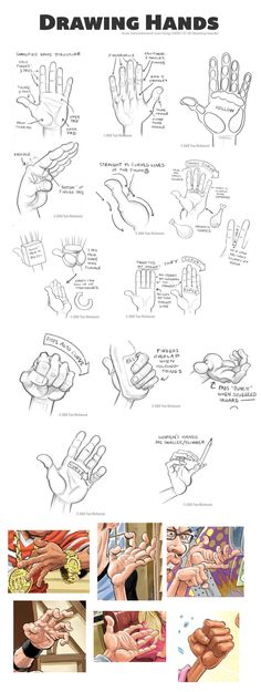 Drawing Hands from Tom Richmond // http://www.tomrichmond.com/blog/2008/12/18/drawing-hands/
