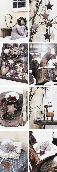 rustic Christmas ideas