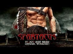 """Spartacus: Blood and Sand """"Official Workout!""""  Definitely something I can do at home when I don't have time for the gym!"""