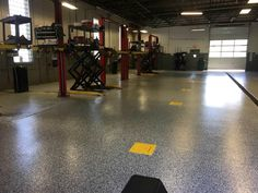 Epoxy Garage Floor Coating | Epoxy Flake System Epoxy Garage Floor Coating, Garage Floor Coatings, Epoxy Floor, Diy Home Improvement, Concrete Floors, Flakes, Ikea, Blog, Flooring