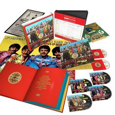 Beatles - Sgt Pepper's Lonely Hearts Club Band [4 CD/Dvd/Blu-ray Combo][Super Deluxe Edition]