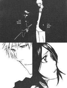 Only in the agony of parting do we look into the depths of love. #rukia #ichigo #ichiruki #bleach