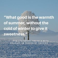 20 INSPIRATIONAL QUOTES FOR THE BEGINNING OF WINTER ~ Comfort & Peasant