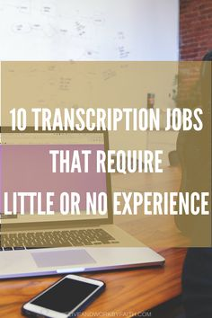 Transcription is one of the easiest ways to break into the work from home industry. Find out where to get started with little or no experience. Earn Money From Home, How To Make Money, Internet Marketing, Online Marketing, Home Based Business, Business Ideas, Online Business, Job Career, Job Resume