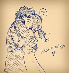 Aw! This one's so cute!!! ❤ I don't ship them, either; I don't ship Sherlock with anyone, but this is really adorable.