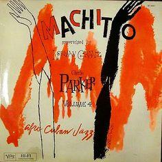 Jazz drawings by David Stone Martin (c.1950/60).