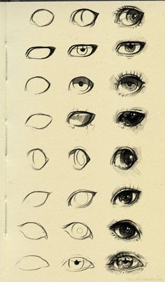 eyes reference 3 by ryky on DeviantArt