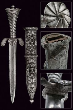 A Landsknechts composite dagger,                                                                     provenance:     Germany                    dating:       16th Century