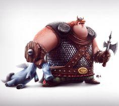 Viking Picture  (2d, fantasy, character, viking, warrior)