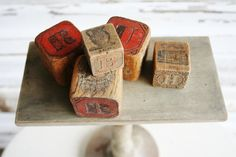 Antique Victorian Blocks