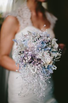 handmade by me - my bridal bouquet!!