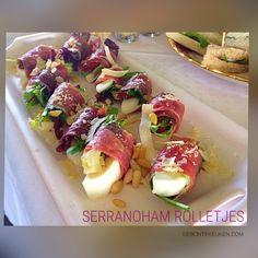 Serranohamrolletjes - De bonte keuken !