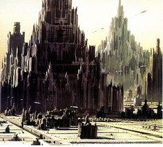 Coruscant - Ralph Mcquarrie