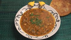 Harira is Morocco's deliciously fragrant tomato and lentil soup which is most often served during Ramadan to break the fast. It is simple to prepare but requires a few hours of cooking time. It's worth it!
