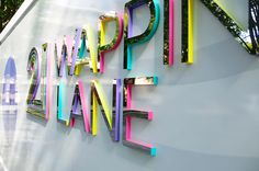 Ballymore - Wapping Lane - Hoarding lettering | Flickr